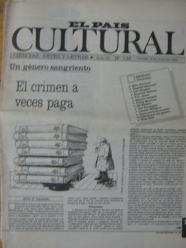cultural 136, 1992 el crimen a veces paga, género sangriento