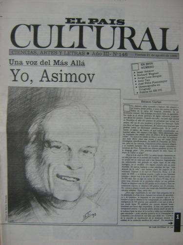 cultural 146 1992, una voz del más allá, yo, asimov
