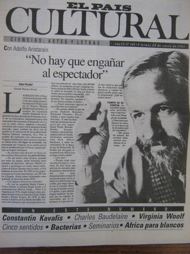 cultural 169, 29 enero 1993, adolfo aristarain