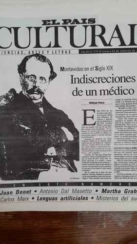 cultural 171, 1993, montevideo en siglo xix, indiscreciones