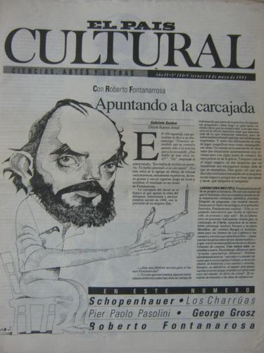 cultural 184, 1993, con roberto fontanarrosa