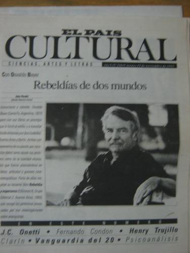 cultural 210 1993, osvaldo bayer, rebeldías de dos mundos