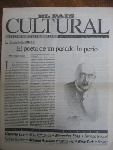 cultural 319, 1995, la obra de rudyard kipling