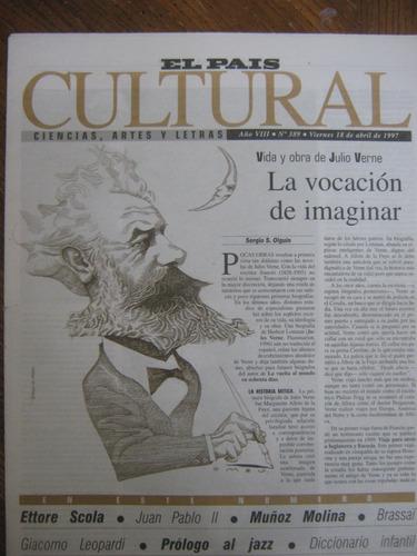 cultural 389, 1997, vida y obra de julio verne
