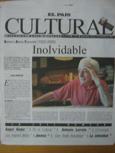 cultural 891 2006, homero alsina thevenet, inolvidable