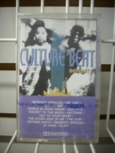 culture beat - serenity cassette nacional nuevo y sellado.