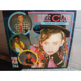 Culture Club Color Por Numeros 1983 Boy George Audio Vintage