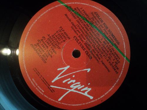 culture club color por numeros 1983 boy george audio vintage
