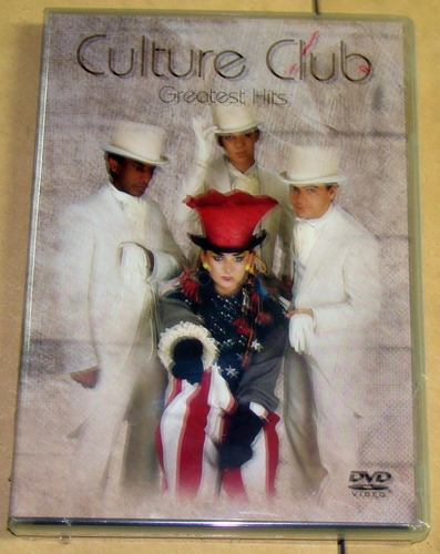 culture club greatest hits dvd argentino sellado / kktus