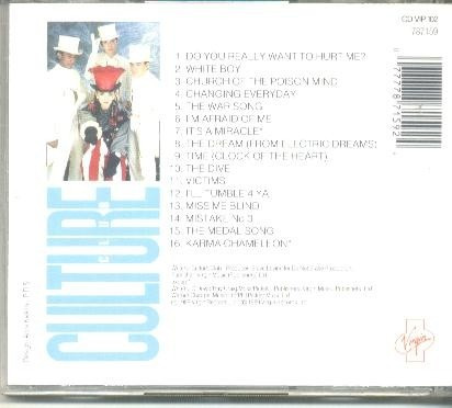 culture club (the best of) - made uk. - cd