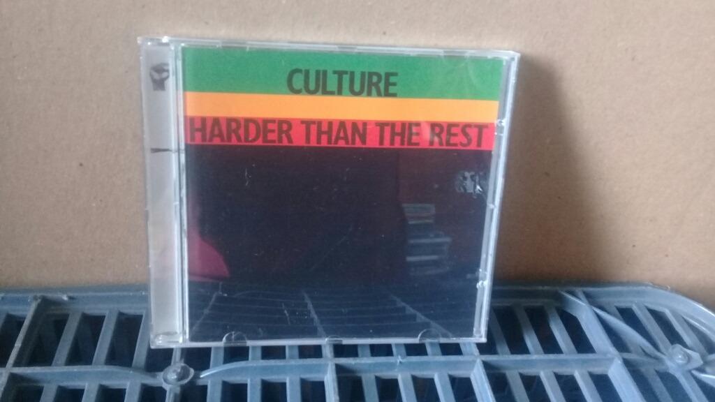 Culture Harder Than The Rest Cd Exc Estado