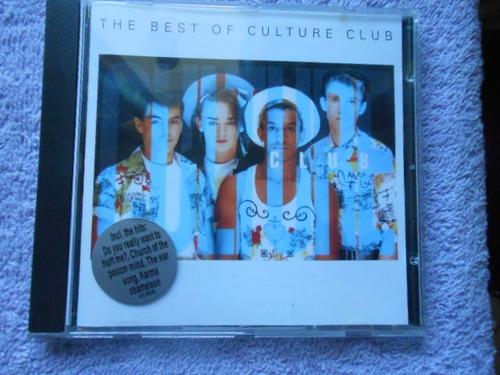 culture the best of culture club cd importado holanda