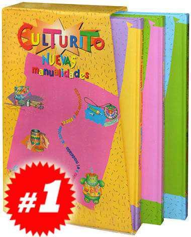 culturito nuevas manualidades 3 vols