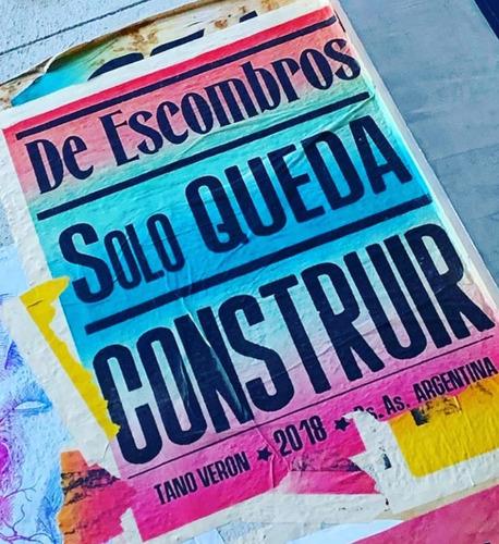cumbia afiche poster frases afiches callejeros tano veron