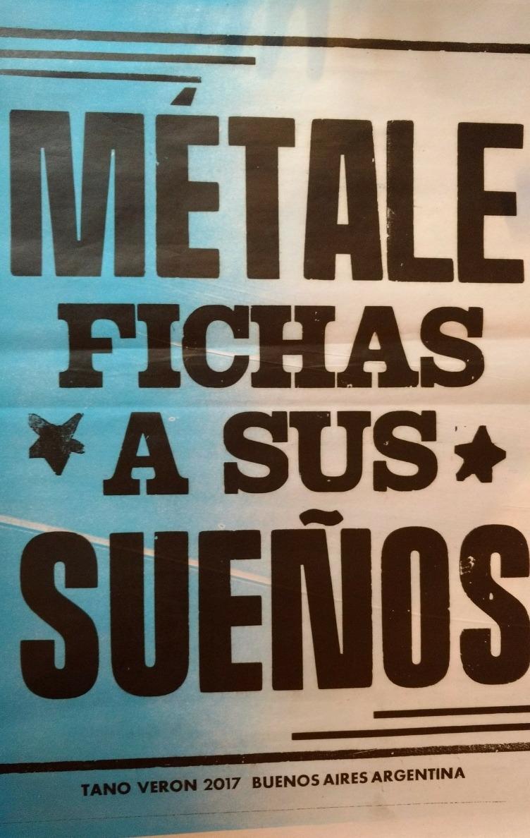Cumbia Afiche Poster Frases Afiches Callejeros Tano Veron - $ 310,00 ...