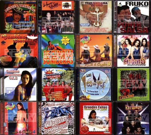 cumbia salsa cds musica