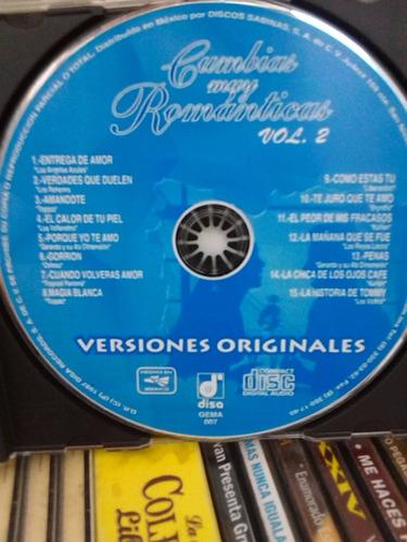 cumbias muy románticas vol. 2 (cd original)