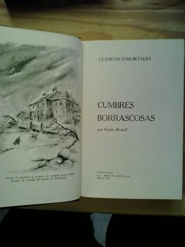 cumbres borrascosas emily brontë clute ilustrado