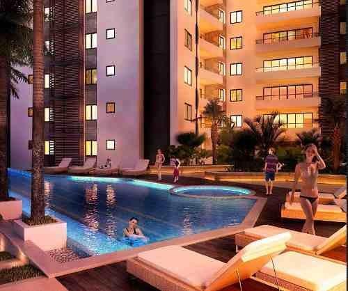 cumbres towers en la zona más trendy de cancún. penthouse tipo 2. 3 recs.