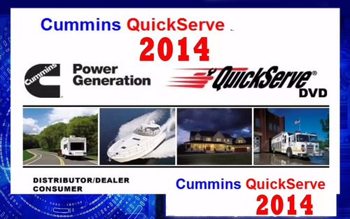 cummins quickserve dvd toda la familia de motores ver. 2014