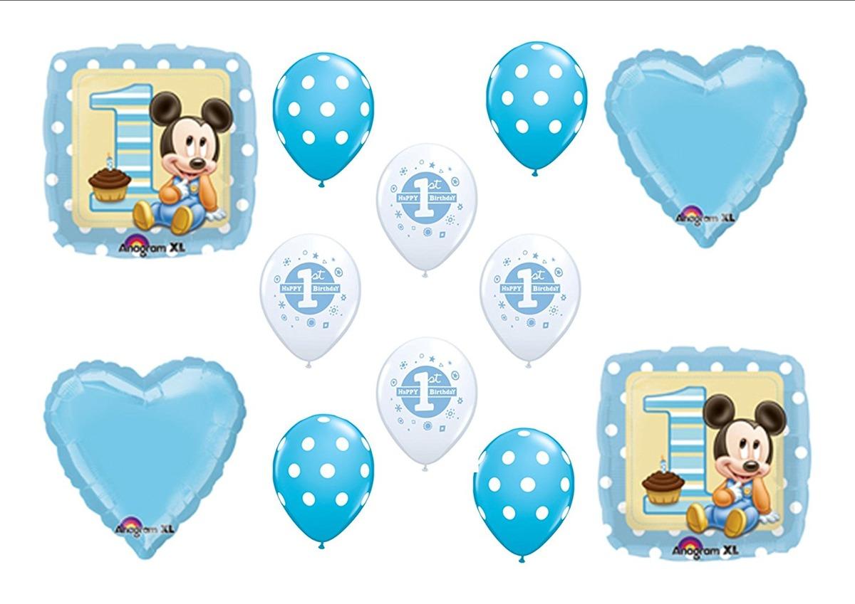 Cumpleanos Del Bebe Mickey Mouse Primero 1r P Juguetes 20 055