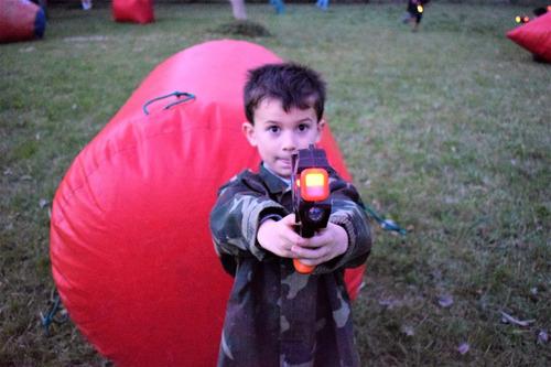 cumpleaños entretenimiento infantil láser game a domicilio