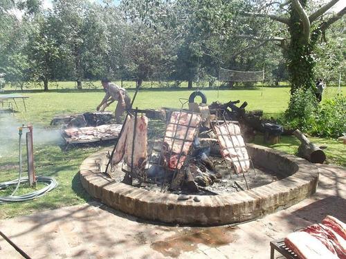 cumpleaños festejos  dia de campo,asados y comidas caseras