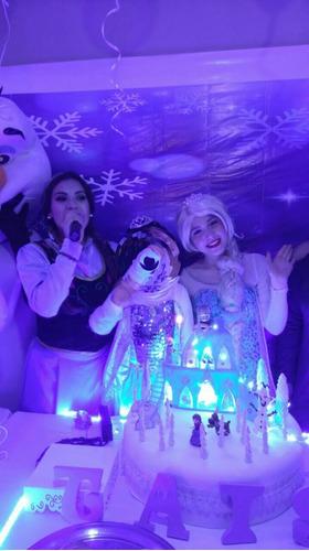 cumpleaños fotomural ( frozen, navidad u otro uso)