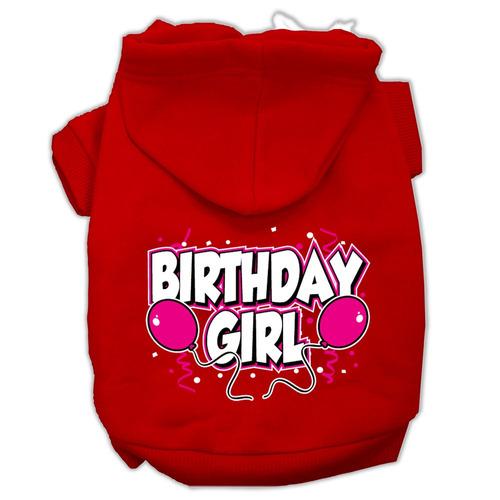 cumpleaños girl pantalla impresión sudaderas con capucha p