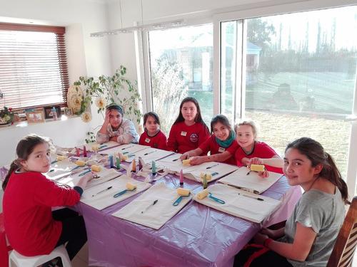 cumpleaños infantiles artísticos a domicilio y talleres arte