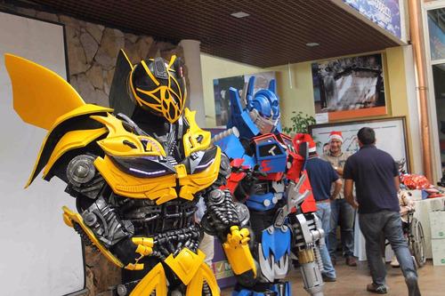 cumpleaños show transformers fiesta eventos original empresa