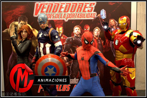 cumpleaños super heroes iron man batman spiderman star wars