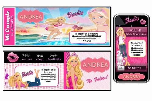 cumpleaños temático de barbie 100% personalizado