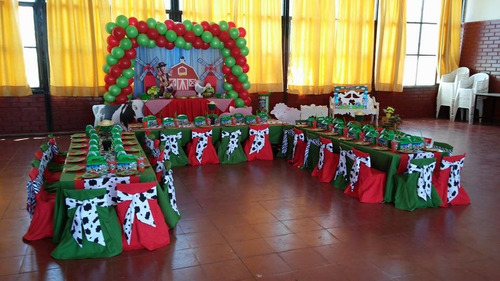 cumpleaños temáticos full decoración