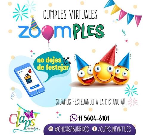 cumpleaños virtuales, animación, shows .para niños y adultos