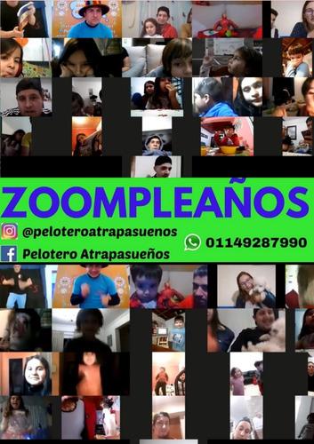 cumples x zoom-campazoom-festejos adultos,pijamadas- 15 años