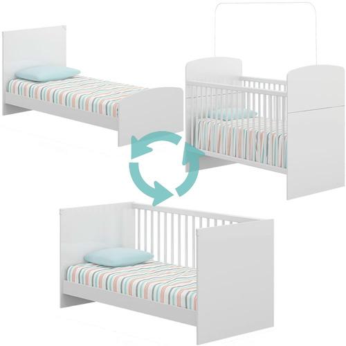 cuna 3 en 1 convertible infantil cama minicama bebe niño