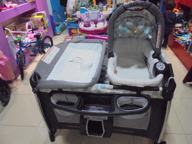 614a1ac335daf Cuna Baby Trend Golite Elx Nursery Center -   129.900 en Mercado Libre