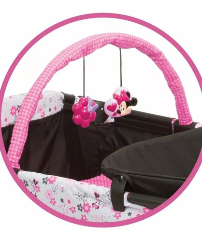 cuna bebé disney minnie mouse corral