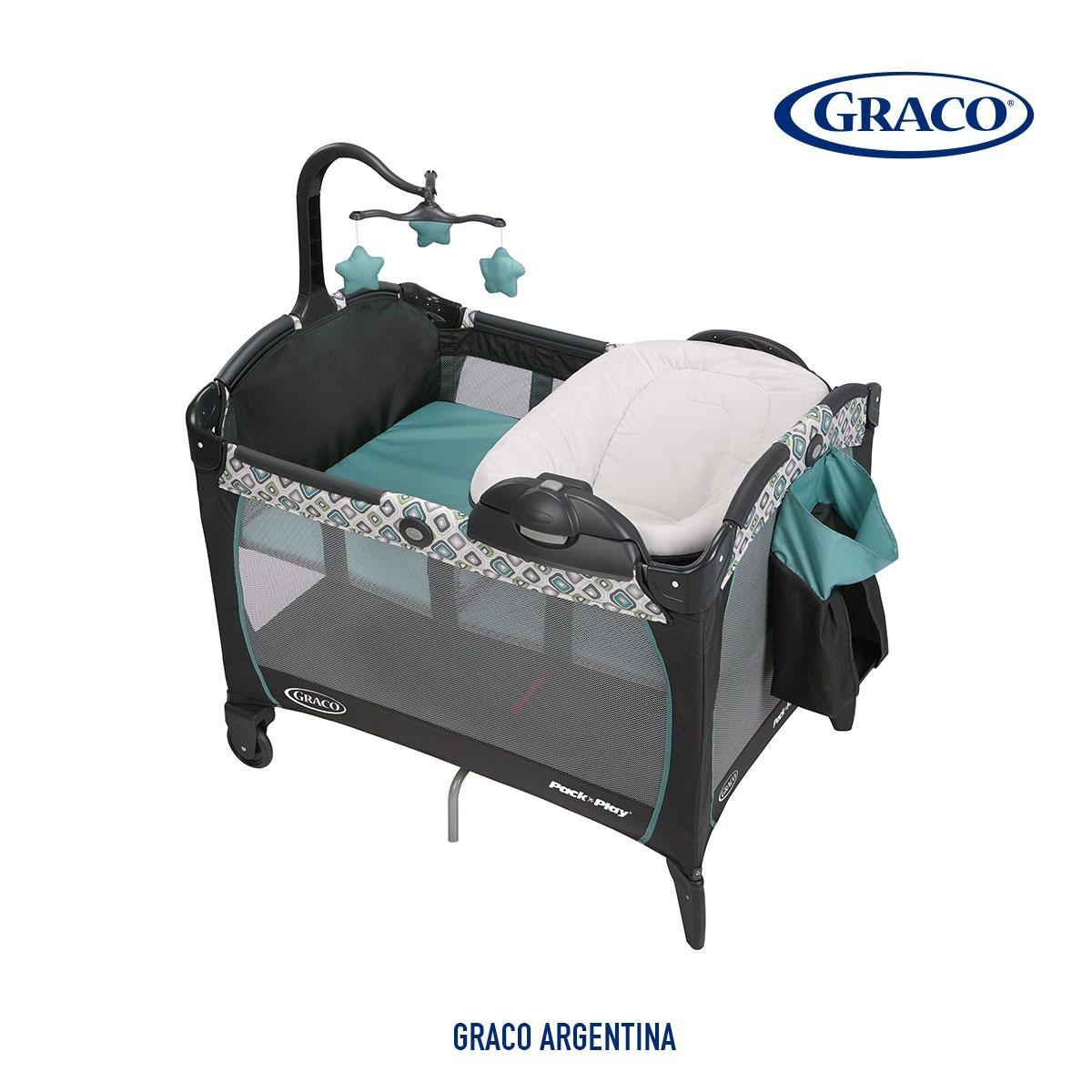 6d66f2b9e Cuna Bolso Bebe Practicuna Graco Napper Reversible Cambiador ...