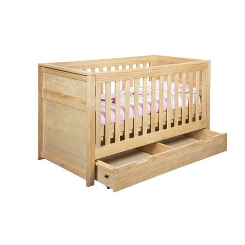 cuna & cama de madera infanti verona + colchón