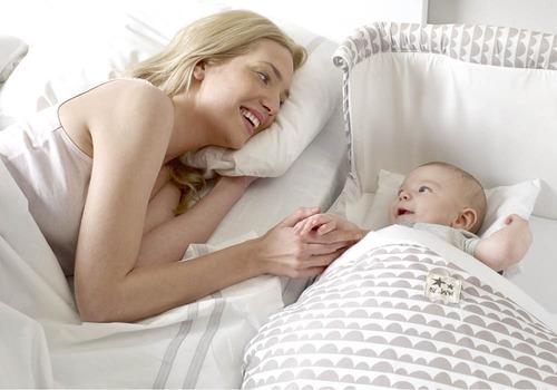 cuna colecho bebesit anti reflujo incluye colchoneta 3 color