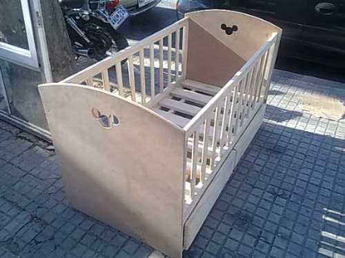 Cuna con 2 cajones en madera en mercado libre - Cuna con cajones ...