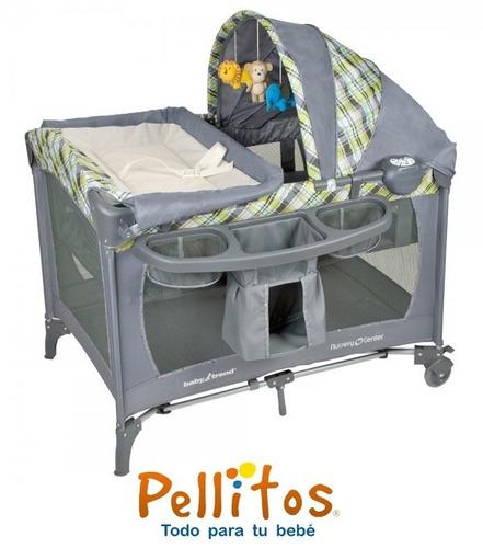 cuna corral baby trend paper zoo - tienda pellitos