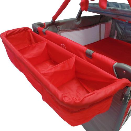 cuna corral happy baby cams-pro con accesorios