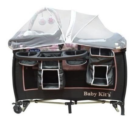 cuna corral mecedora de bebe incluye moises,juguete supreme