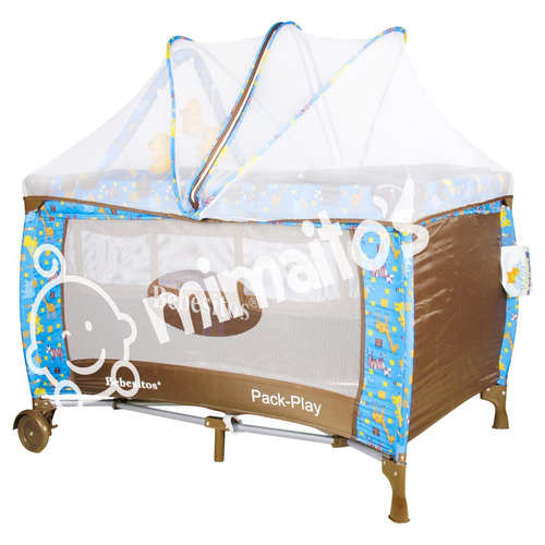 cuna corral para bebe tipo camping marca bebesitos toldillo