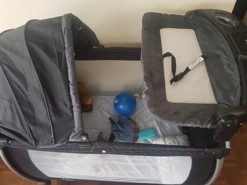 cuna corral  para bebes, cambiador, organizador  + colchon