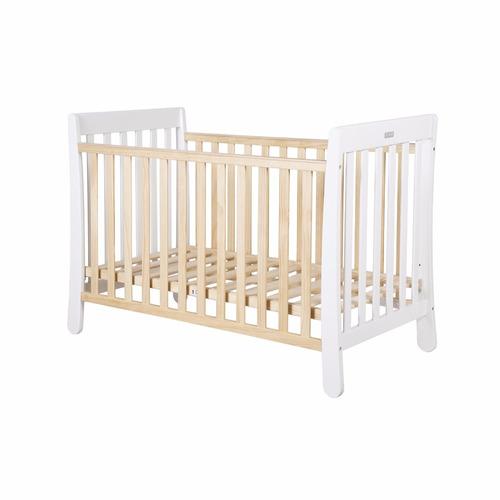 cuna de madera infanti venus + colchón