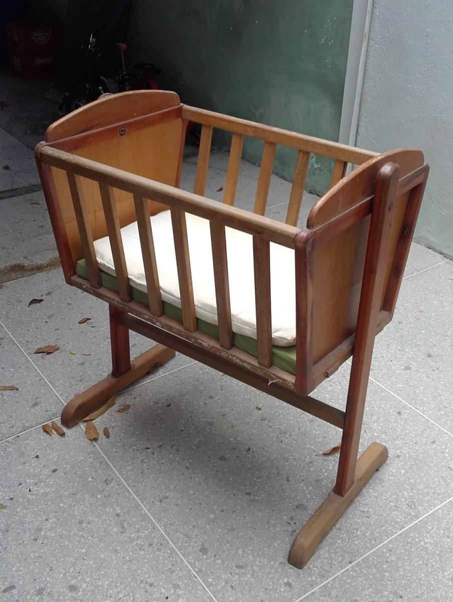 Cuna de madera para bebes usada bs en - Cuna de madera para bebe ...